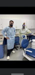 Glasgow dentist PPE